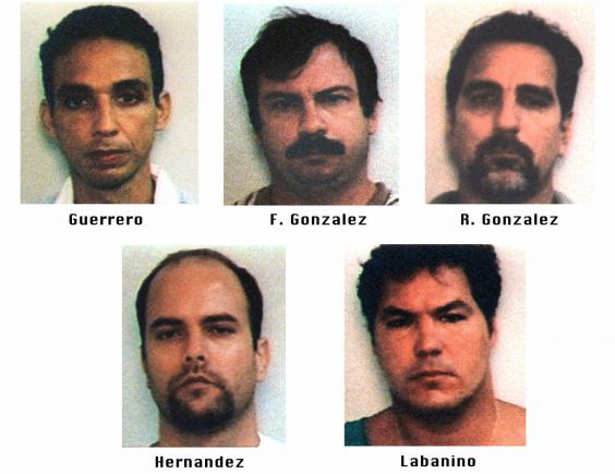 The Cuban 5 - Also known as the Miami five.