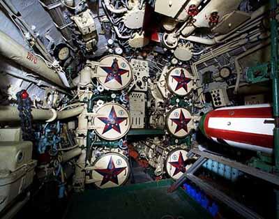 Foxtrot torpedo tubes
