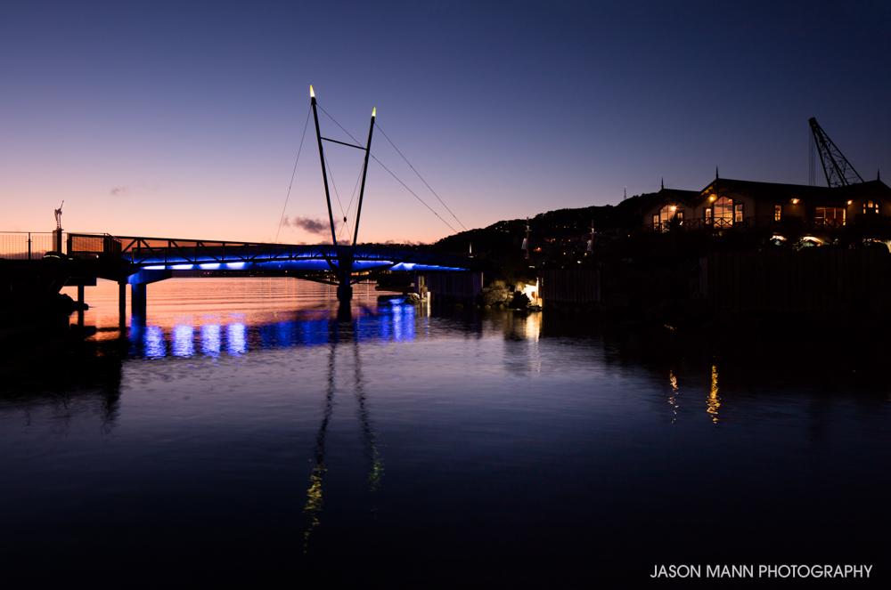 Waterfront Bridge by Athfield Architects