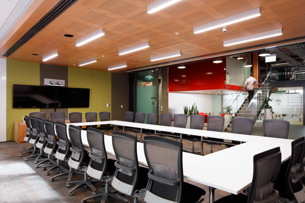 Jason Mann Photography -  NZ Post, Boardroom