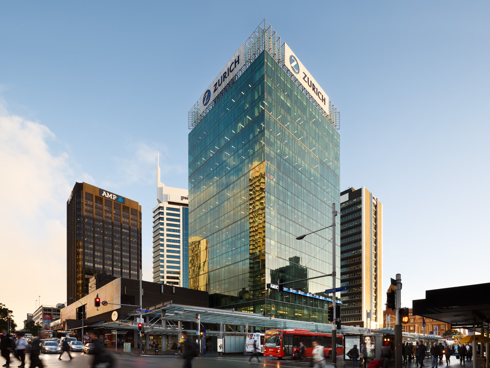 © Jason Mann Photography - Zurich Building, Auckland
