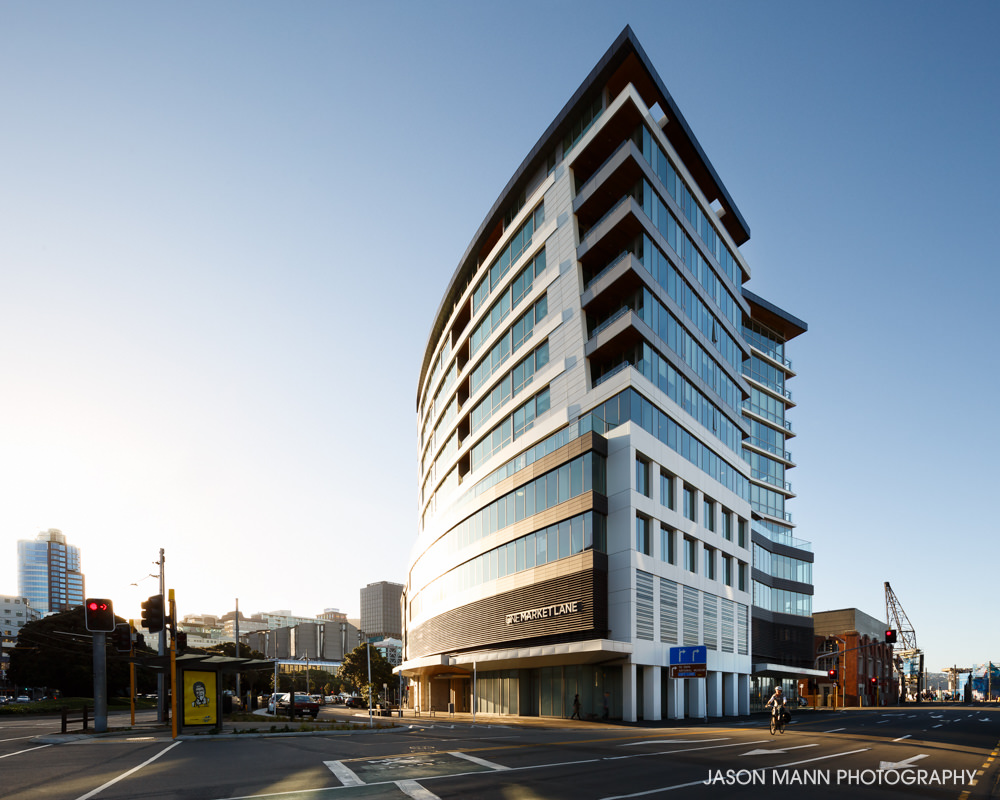 © Jason Mann Photography - One Market Lane, Wellington. Exterior