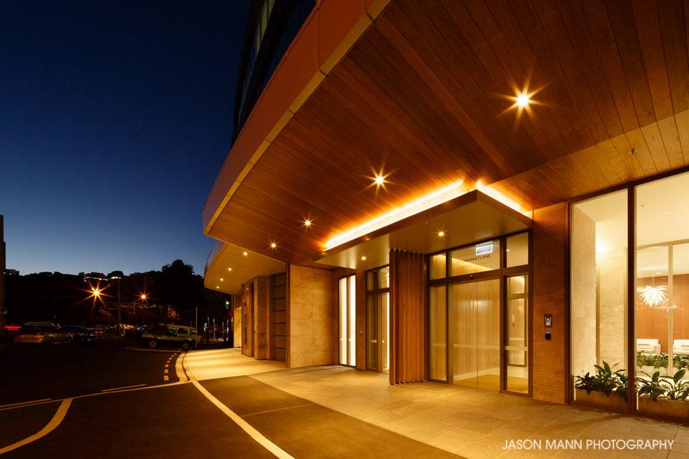 © Jason Mann Photography - One Market Lane, Wellington. Entrance