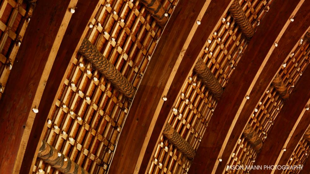 Interior Detail - Moulton Memorial Chapel (1986), Tupou College, Tonga.