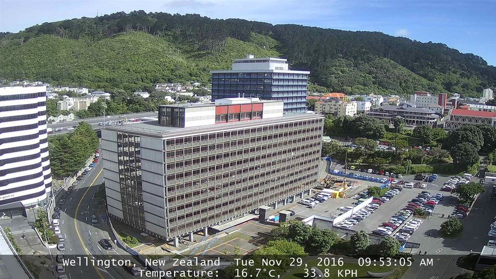 Bowen Campus Redevelopment, Wellington. Timelapse