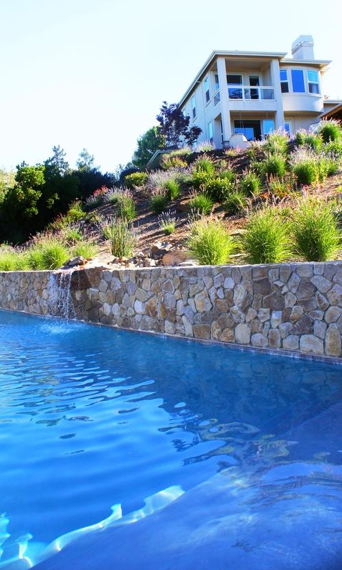 David fowler designs for Pool design hillside