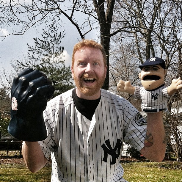 Dave and Yankee Puppet