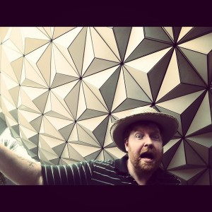 Dave and the Epcot Boulder