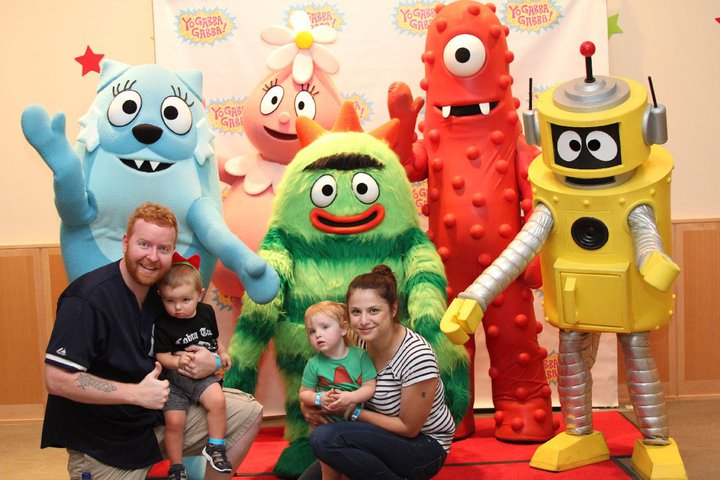 The Mac's at Yo Gabba Gabba