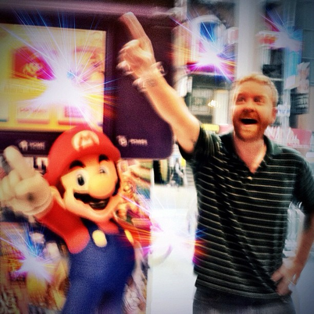 Dave & Mario are best friends.