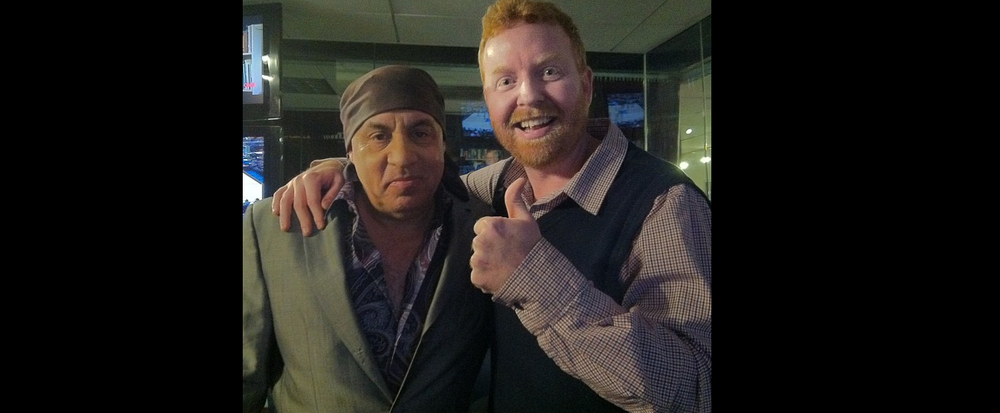 Dave and Little Steven Van Zandt of Bruce Springsteen's E Street Band