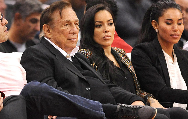 Pictured - Donald Sterling and women too attractive for him.