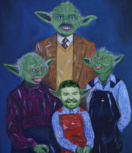 Yoda Family- Chuck, Maureen, Marty & David