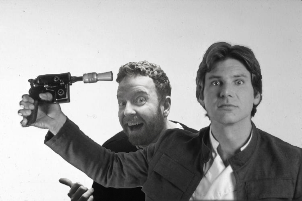 Davey Mac & Han Solo = Best Buds