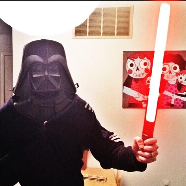 Daveth Vader sometimes shits lava.