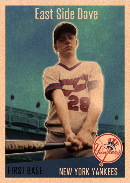 Fourteen-year-old Davey Mac - one handsome child.