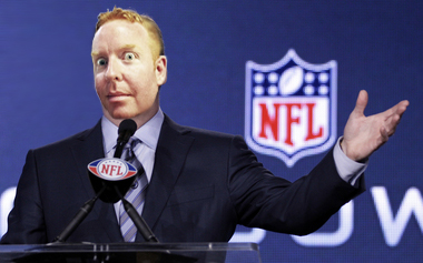 East Side Dave - New, freaky, non-pants-wearing, NFL Commissioner.