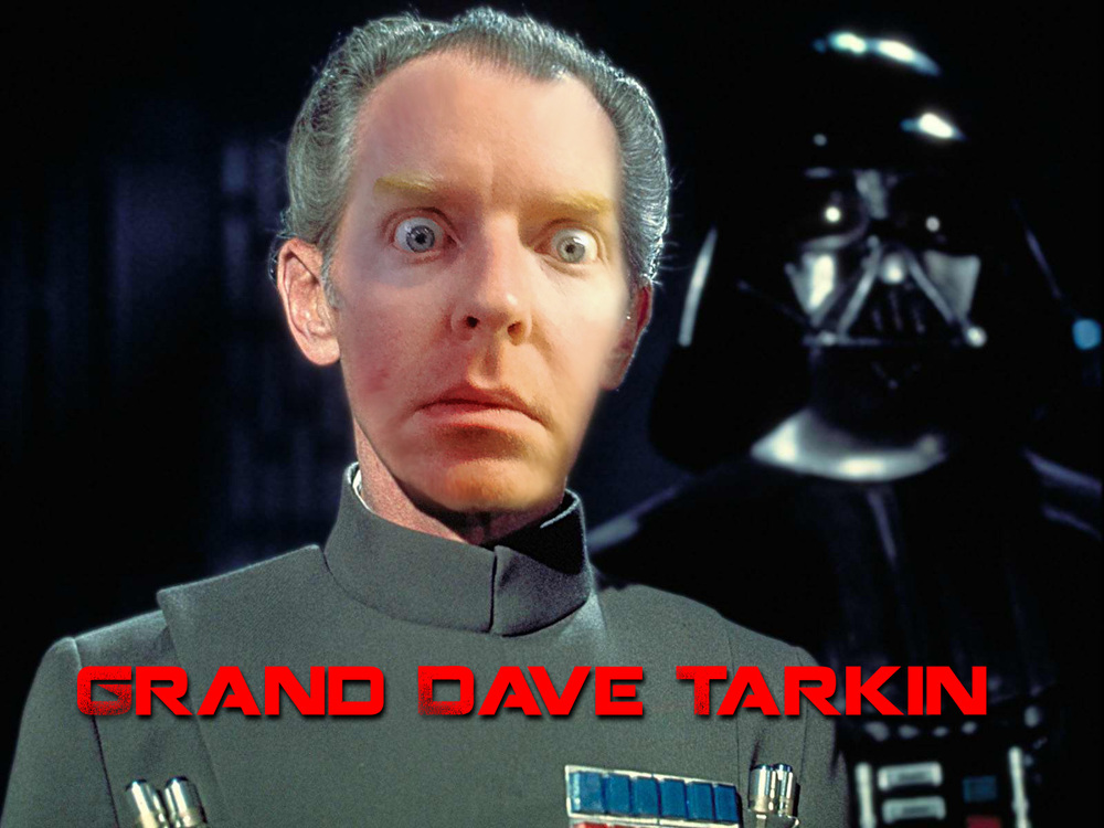 Grand Dave Tarkin - He has a foul stench.
