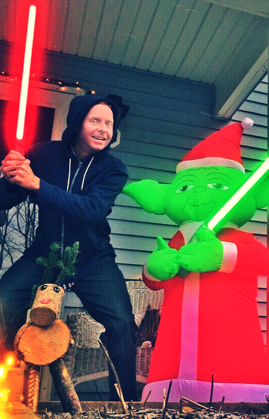 Darth Mac and East Side Yoda
