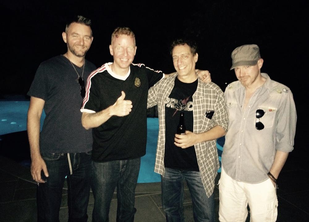 """Handsome Gentlemen: Sean O, """"East Side"""" Dave, Anthony, Roy Shaffer"""