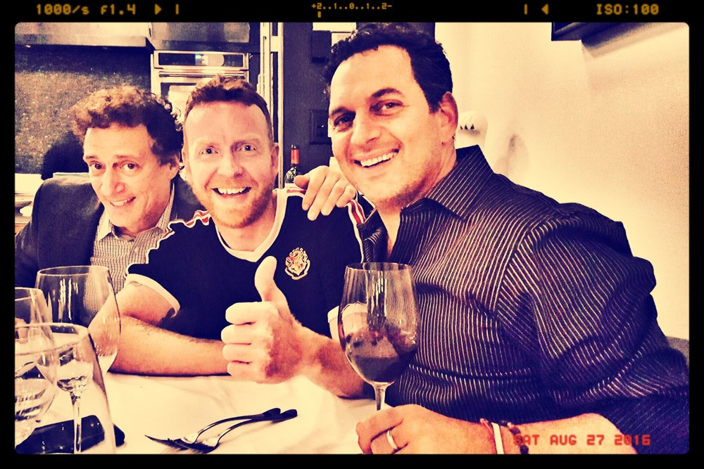 Verified Stars: Anthony Cumia, Dave McDonald, Geno Bisconte...well...two outta three ain't bad...please get verified, Geno....so we can shorten the caption of this photo...gracias.