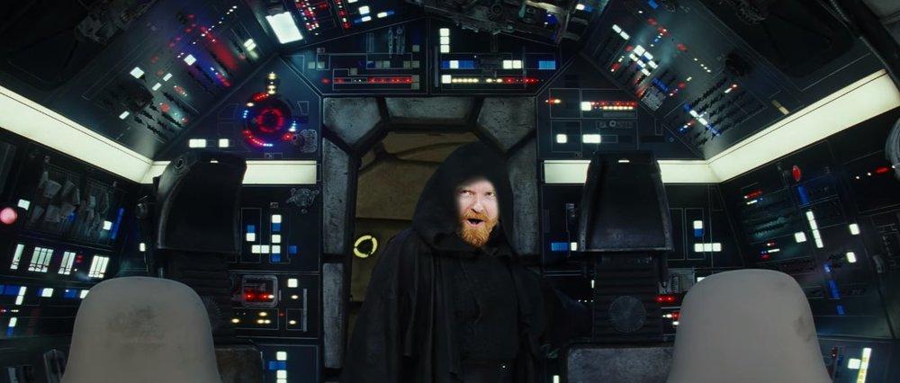 The Last Jedi Dave Luke Falcon.JPG