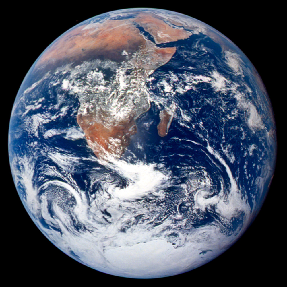"The original ""BLUE MARBLE"" - Apollo 17 - 1972"