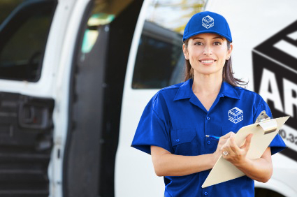 Female Delivery Driver