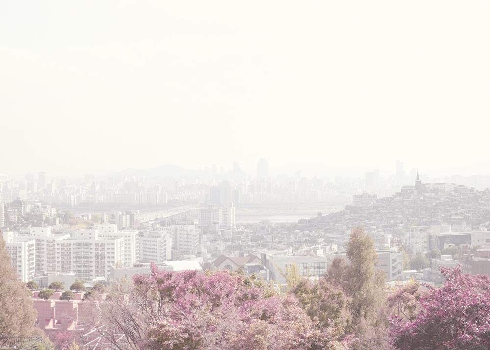 Seoul, South Korea - Taken through a car window.