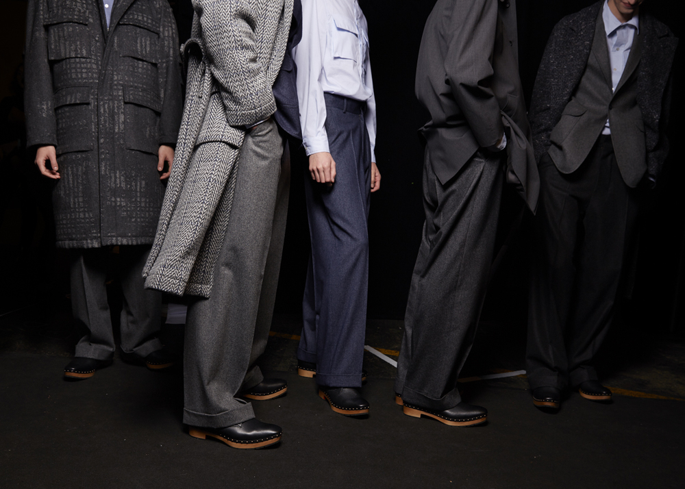 Lovely to be asked to be the official backstage photographer for E.Tautz at their AW15 London Collection: Men show.
