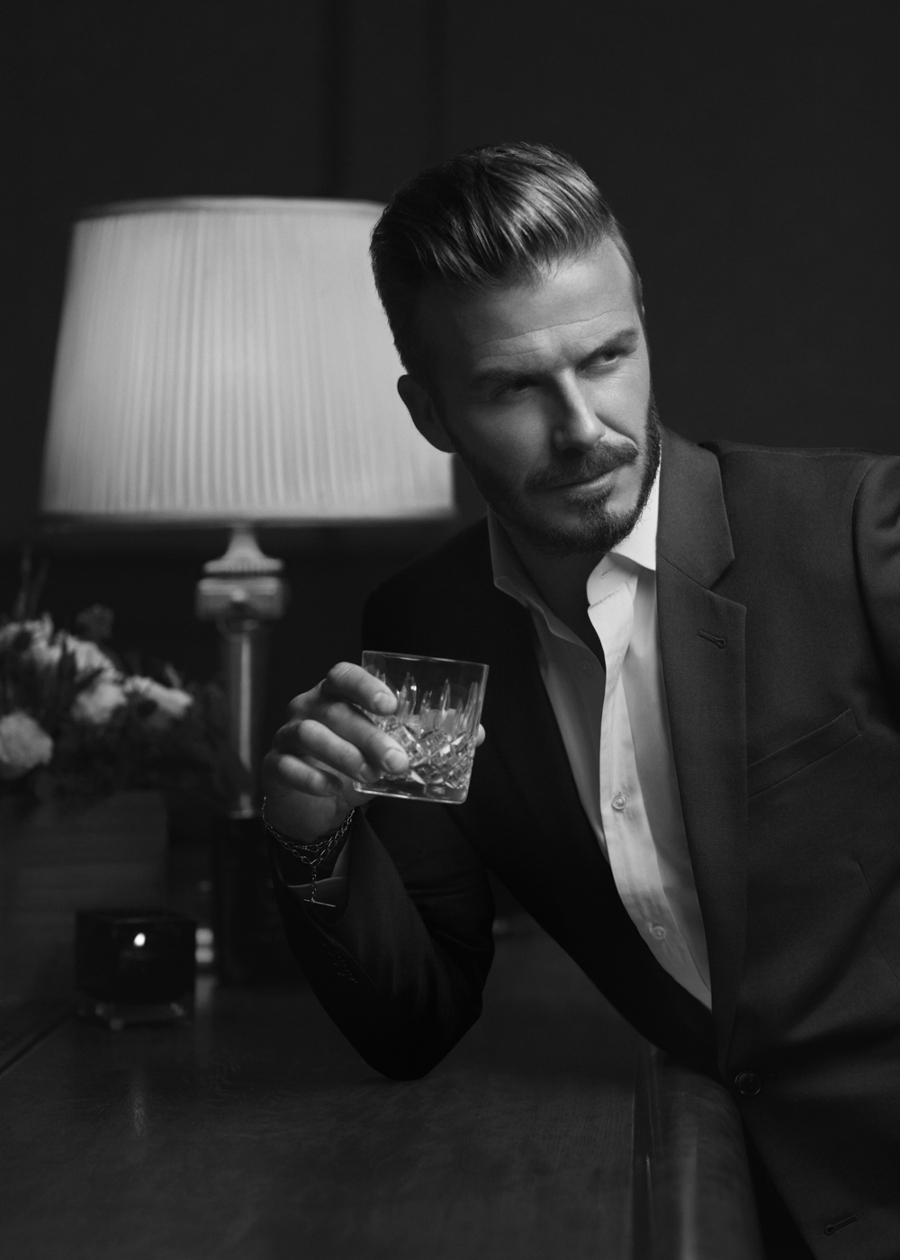 I recently flew to LA to photograph David Beckham for the US launch of Haig Club Whisky.