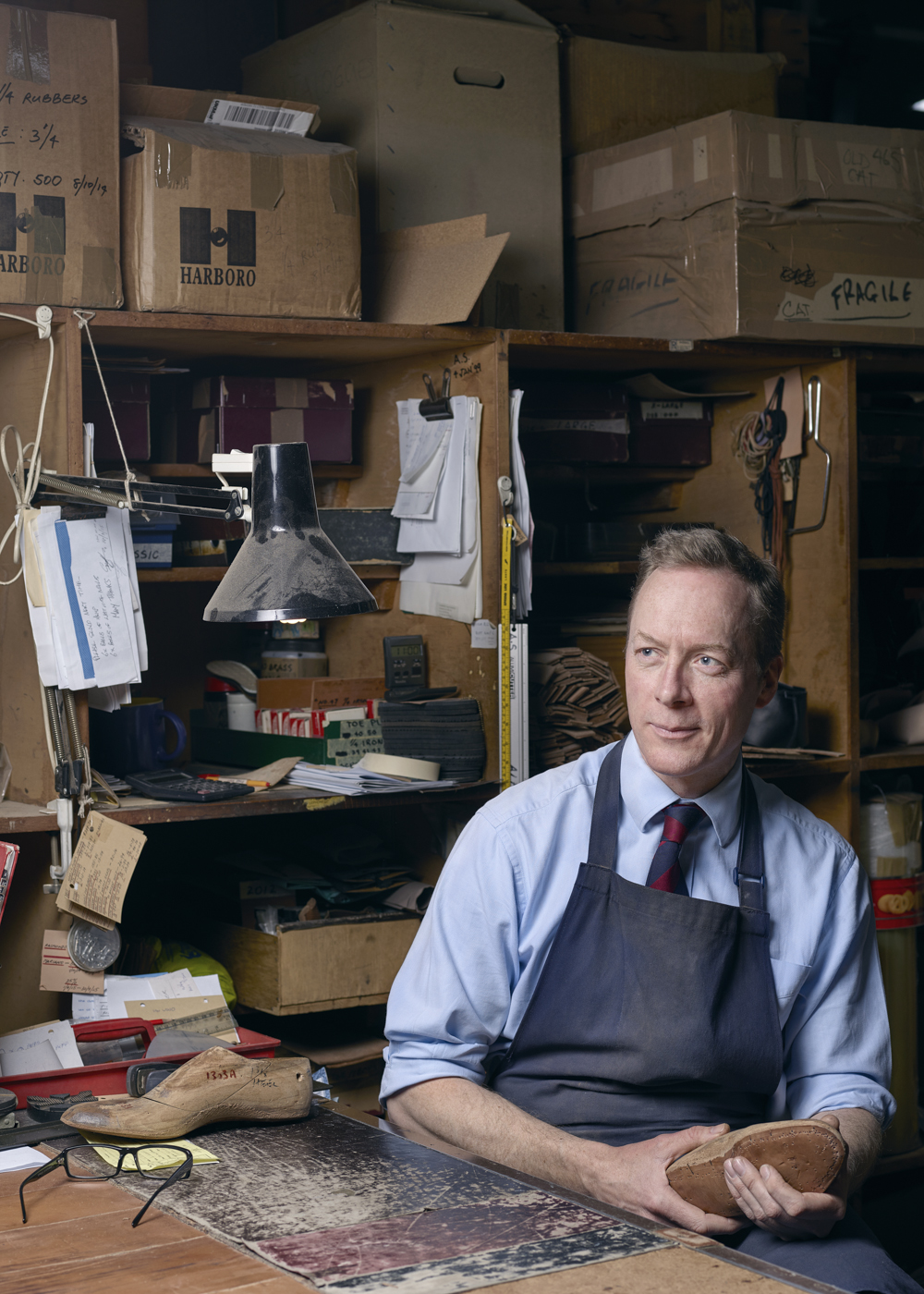 John Lobb Jr. Photographed for part of my 'Crafted' series. Click  here  to view thefull story here: