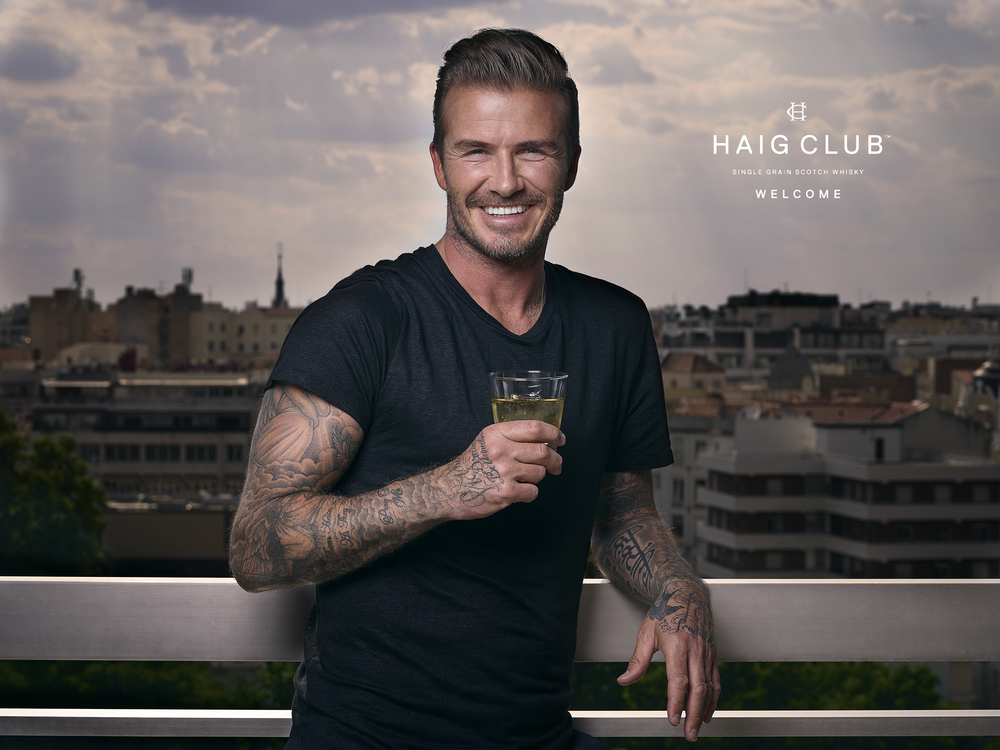I recently flew to Madrid to photograph David Beckham for Haig Club #DavidBeckham #HaigClub #Photography #Madrid #Spain #Whisky #Portrait #PhaseOneIQ250