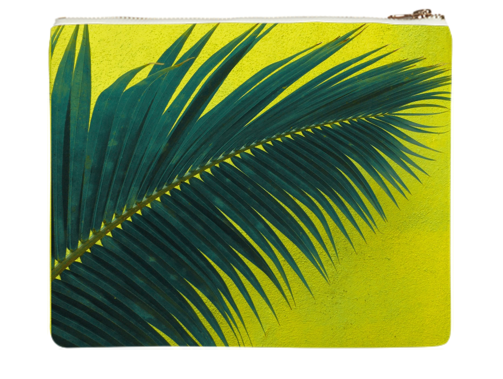 "PALMERIA DOS    Neoprene Zip Bag  10"" w x 9"" h       Seventy Two Dollars"