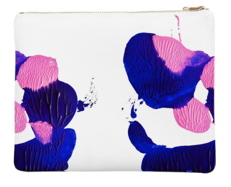 "BLOT TO YOU    Neoprene Zip Bag  10"" w x 9"" h       Seventy Two Dollars"
