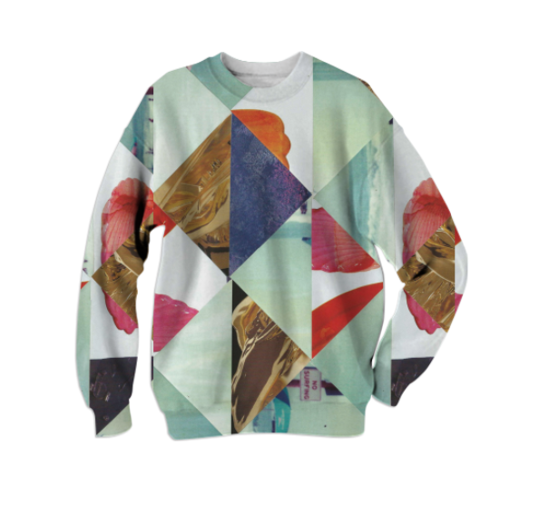 NO SURFING SWEATSHIRT    Cotton Sweatshirt      Sixty Eight Dollars