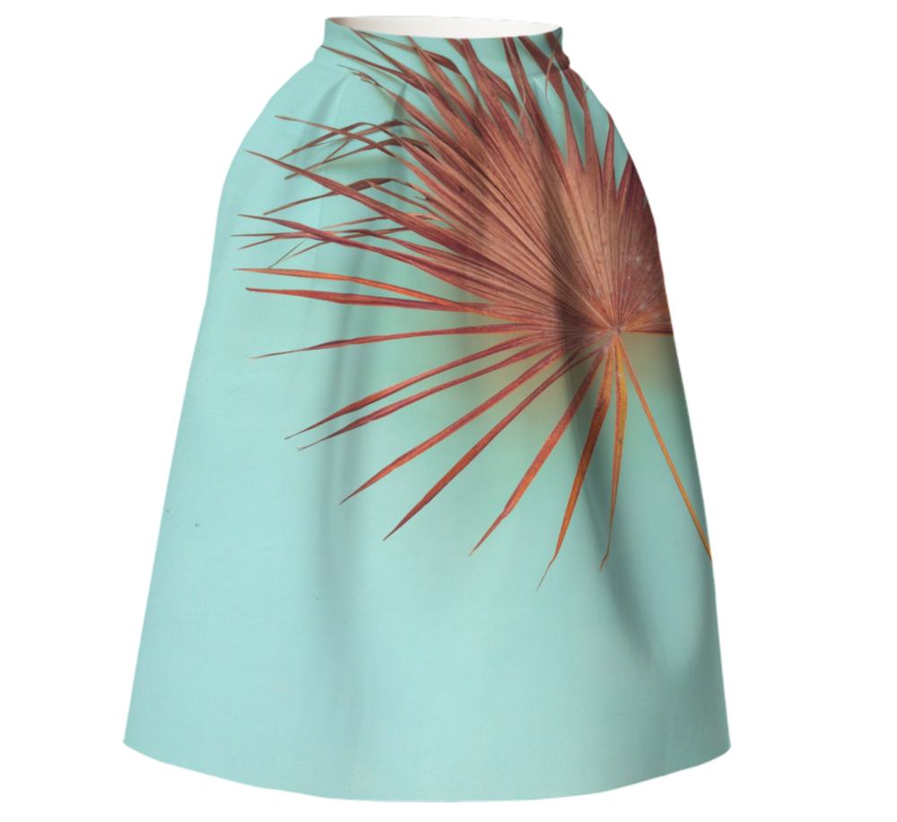 PALMY I SKIRT    Neoprene Full Skirt      One Hundred Forty Two Dollars