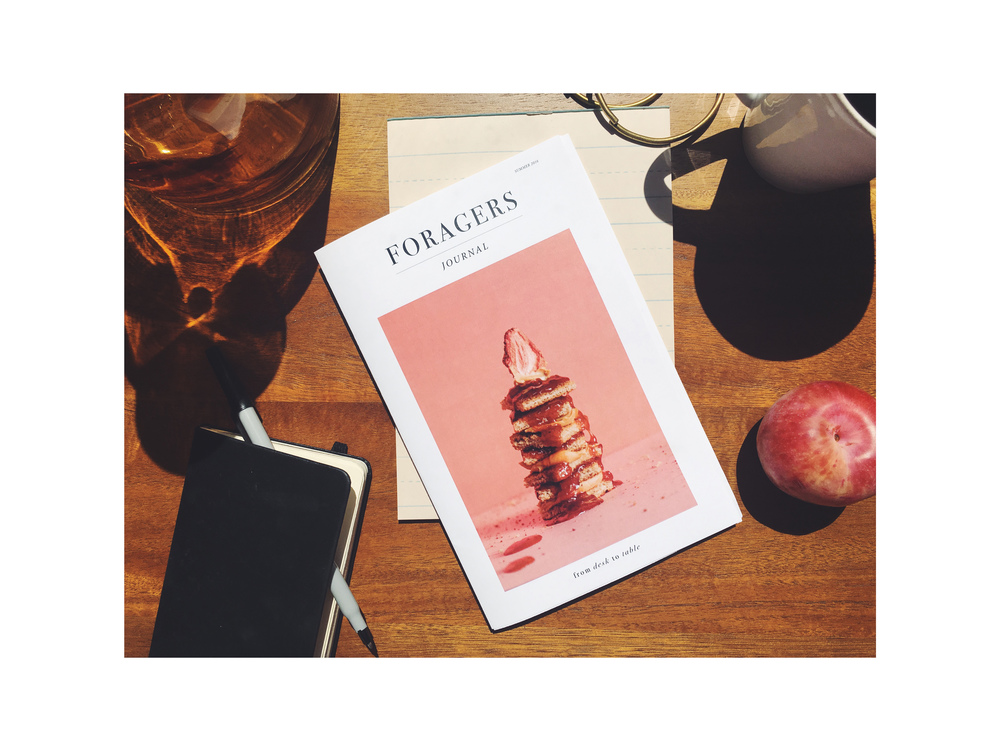Foragers Journal Art Direction + Photography