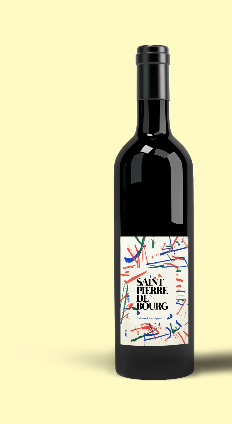 PACKAGING DESIGN - Wine label design created for a private event