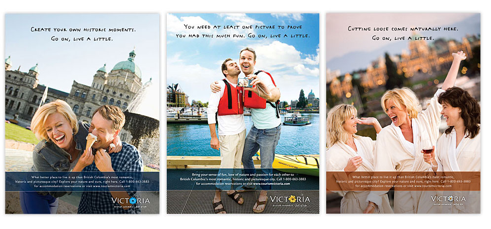 Came across this fun campaign I shot for Tourism Victoria a few years back.