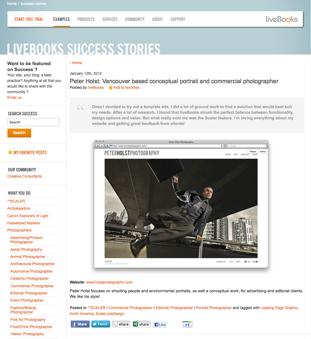 Excited to be featured on Livebooks…