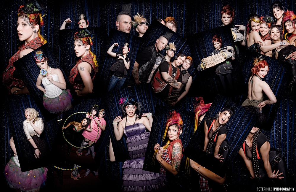 Chop Shop's 5th b-day party. Red carpet shoot…   Click image to see larger version.