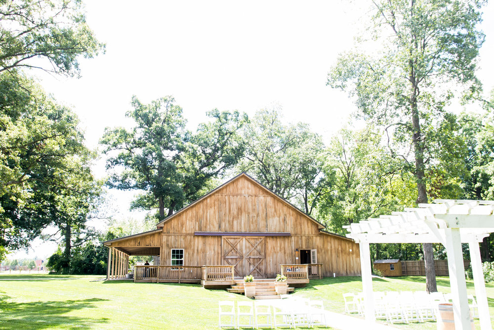 Barn at Hawks Point Wedding Venue in Anderson, IN