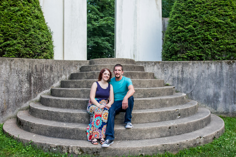 Terre Haute Engagement Photographer - Hall