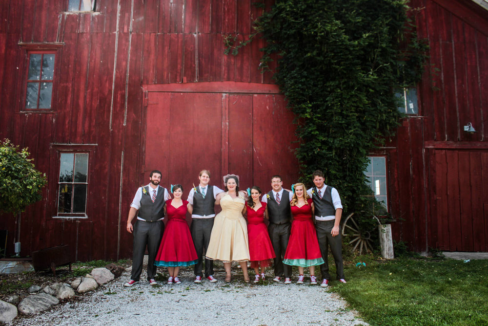 The Red Barn Experience Wedding Venue in Valparaiso, Indiana
