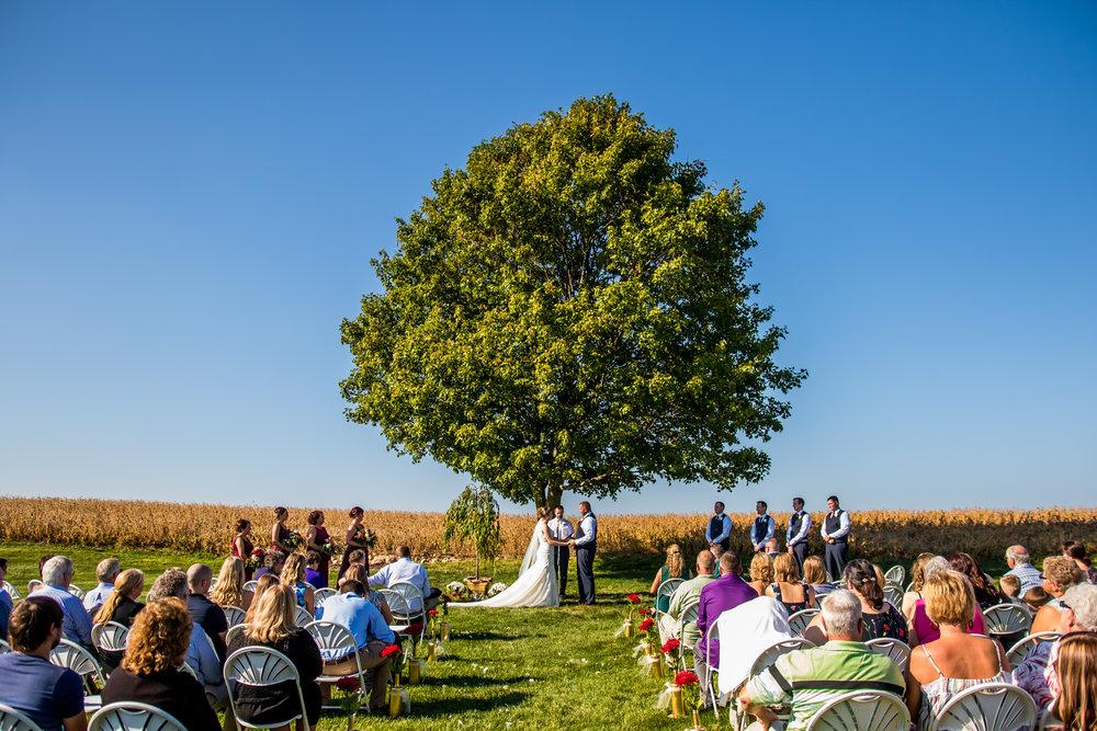 Sylvan Cellars Wedding Venue in Rome City, Indiana