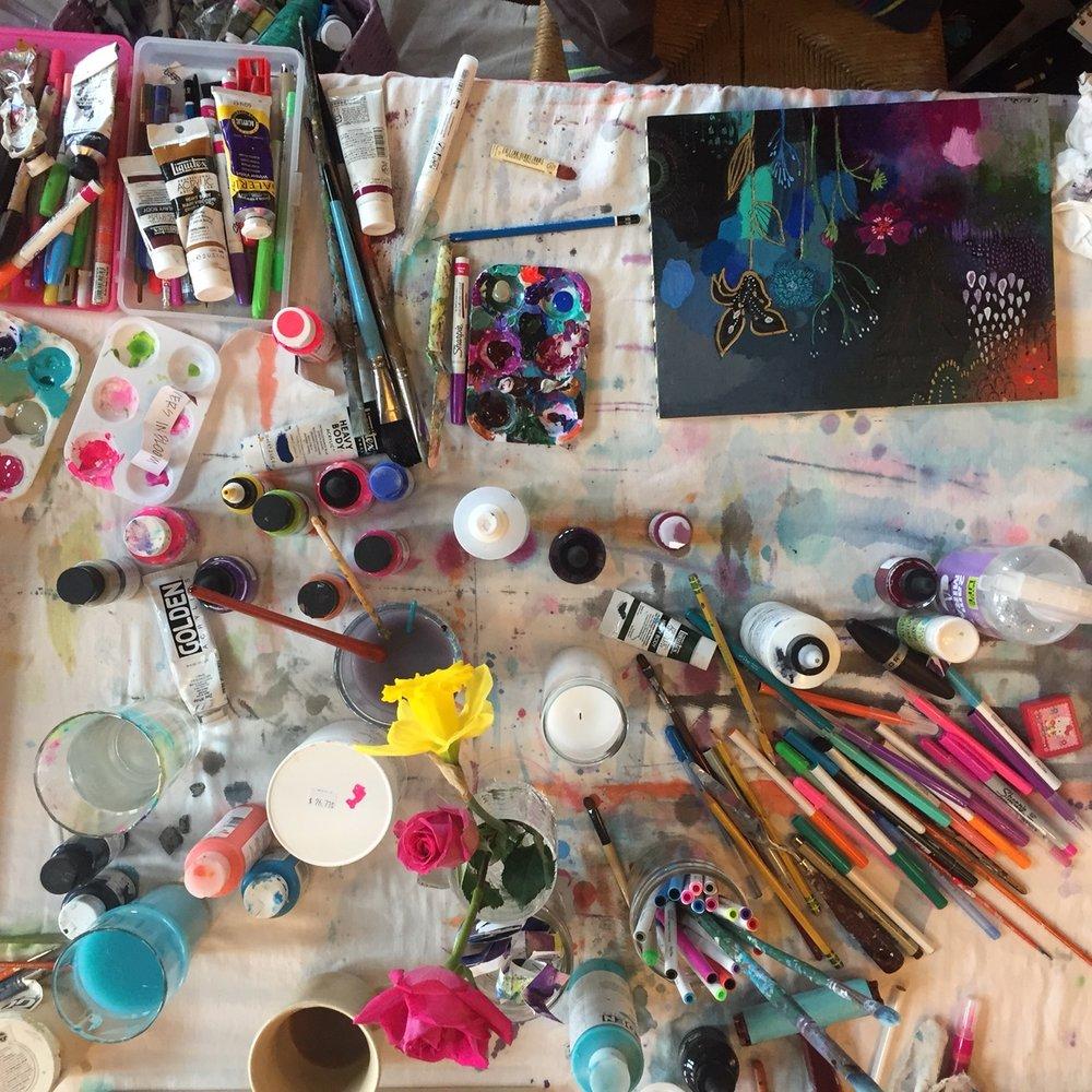art messy table.JPG