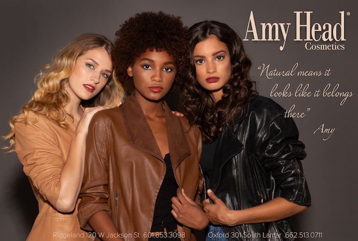 Click here to shop Amy Head Cosmetics