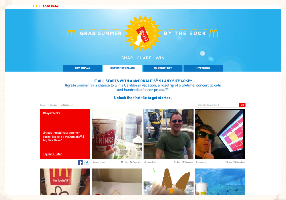 GrabSummer.com Homepage