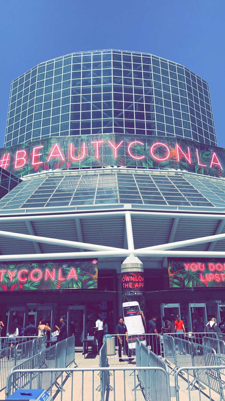 #BeautyConLA - first timer alert!